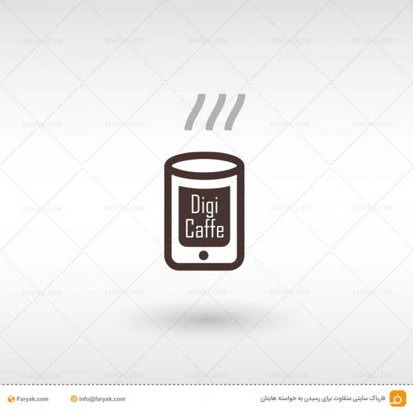 لوگو لایه باز کافه موبایل