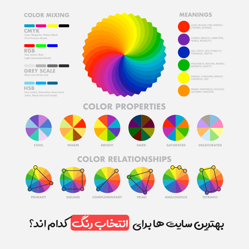 بهترین سایت ها برای انتخاب رنگ کدام اند؟
