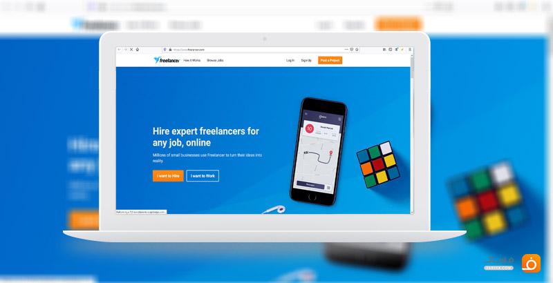 معرفی بهترین سایت فریلنسری خارجی Freelancer.com