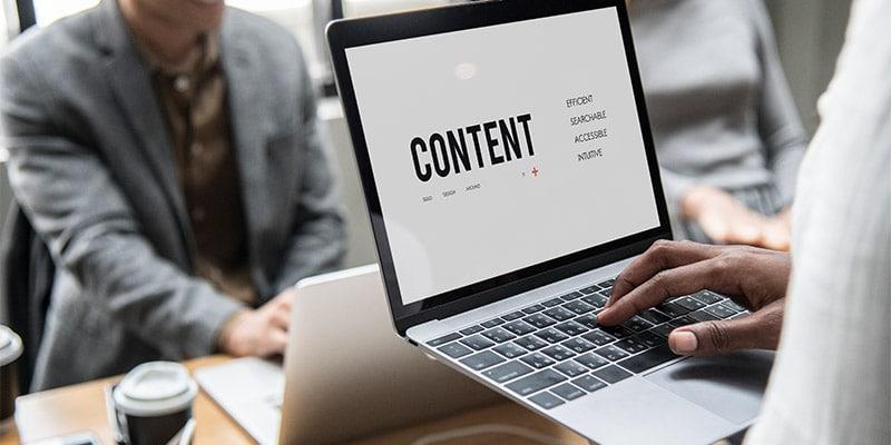 کسب و کارهای اینترنتی موفق محتوای ارزشمند تولید می کنند