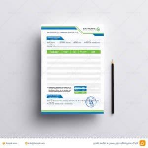 فاکتور لایه باز خدمات خارجی + مهر برای احراز هویت سایت های خارجی
