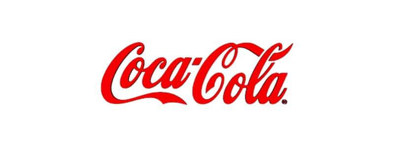 لوگوی برند coca cola