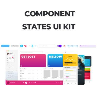 مجموعه کامپوننت های طراحی رابط کاربری