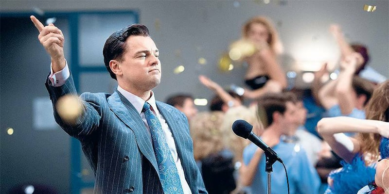 فیلم جذاب و خاطره انگیز The Wolf Of Wall Street